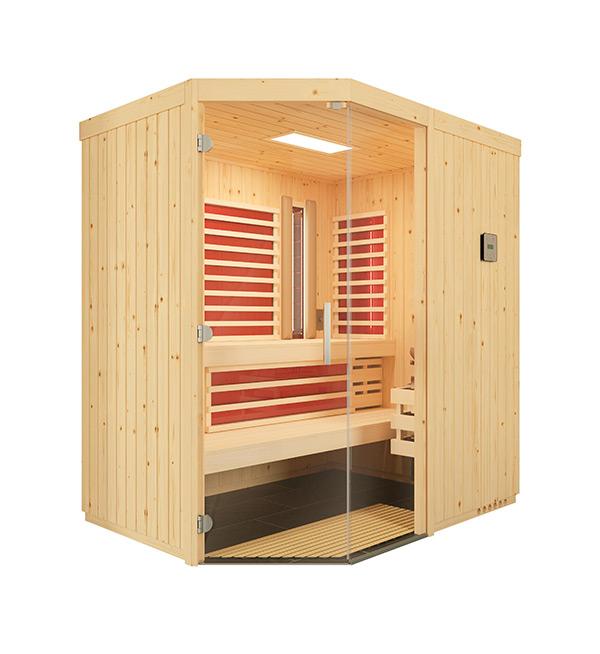 Sauna-Optima-Fichte